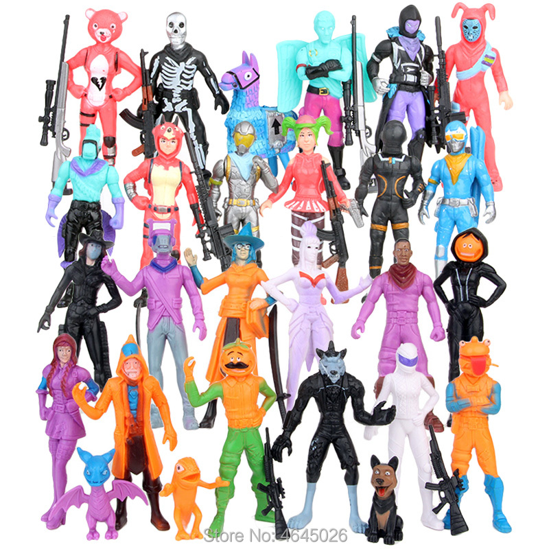 Image 3 - Fornite Battle Royale PVC Action Figures Llama Game Model Gun Weapons Figurines Collectible Dolls Kids Toys for Children Boys-in Action & Toy Figures from Toys & Hobbies