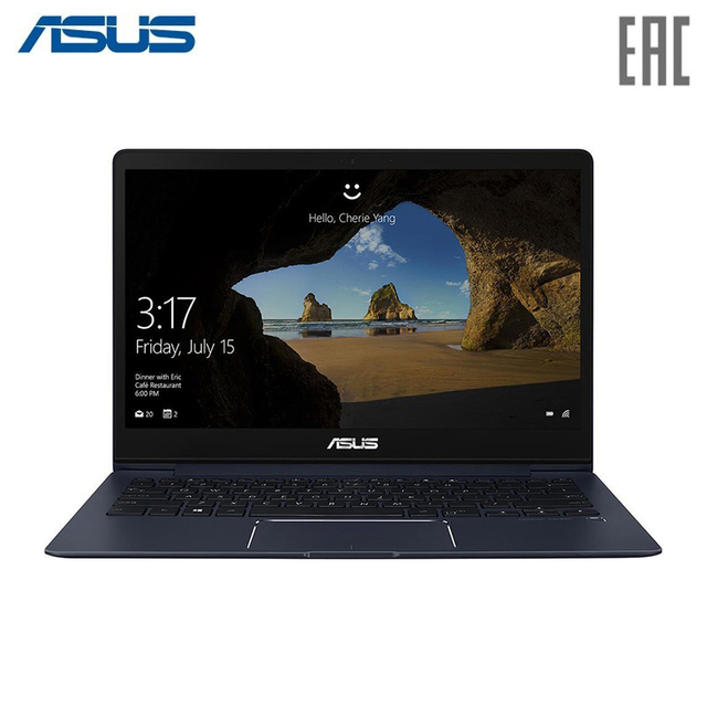 "Ноутбук ASUS UX331UAL (Q4 Special) Intel i7-8550U/16Gb/512Gb SSD/13.3"" FHD IPS Anti-Glare/Windows 10 Deep Dive Blue (90NB0HT3-M03520)"
