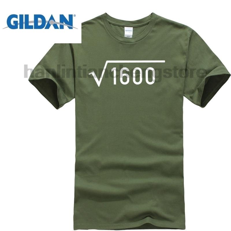 GILDAN 40th Birthday Gift Present Idea For Boys Dad Him 1977 Men T Shirt Tee Shirts 40 Hot 2018 Summer MenS Fashion