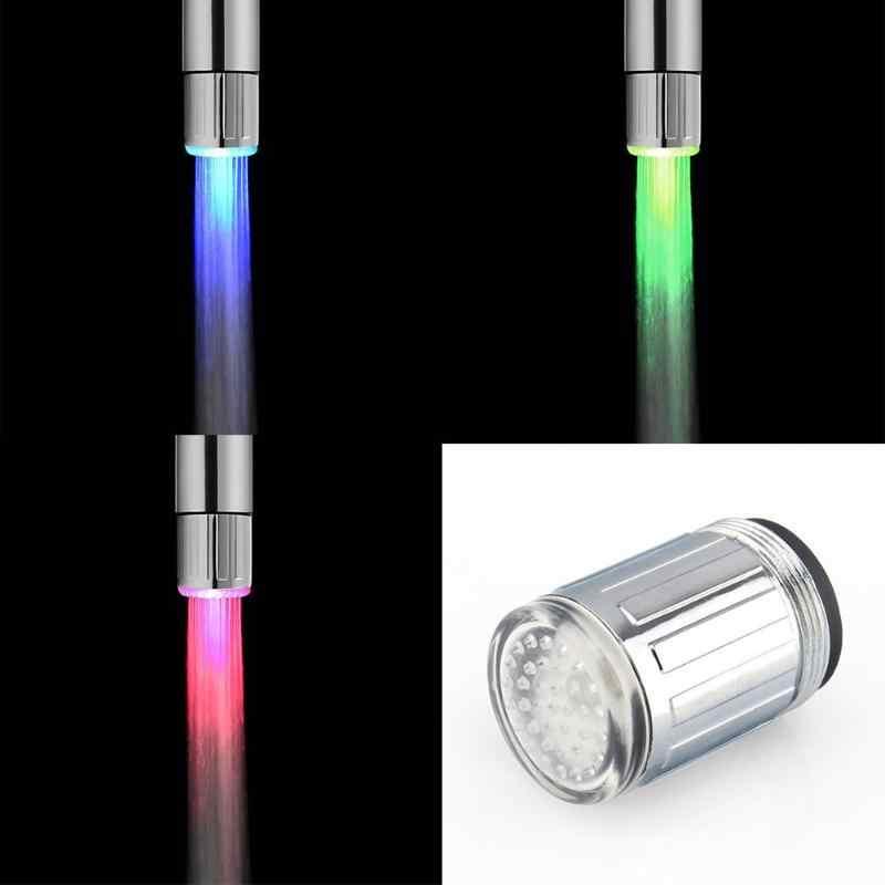 7 色 LED 水蛇口ライトカラフルな変更グローシャワーヘッドキッチンタップエアレーター用製品