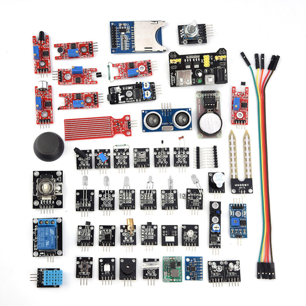 45 In 1 Multi Sensor Module Board Kit Set for Arduino Plastic DIY Project Useful45 In 1 Multi Sensor Module Board Kit Set for Arduino Plastic DIY Project Useful