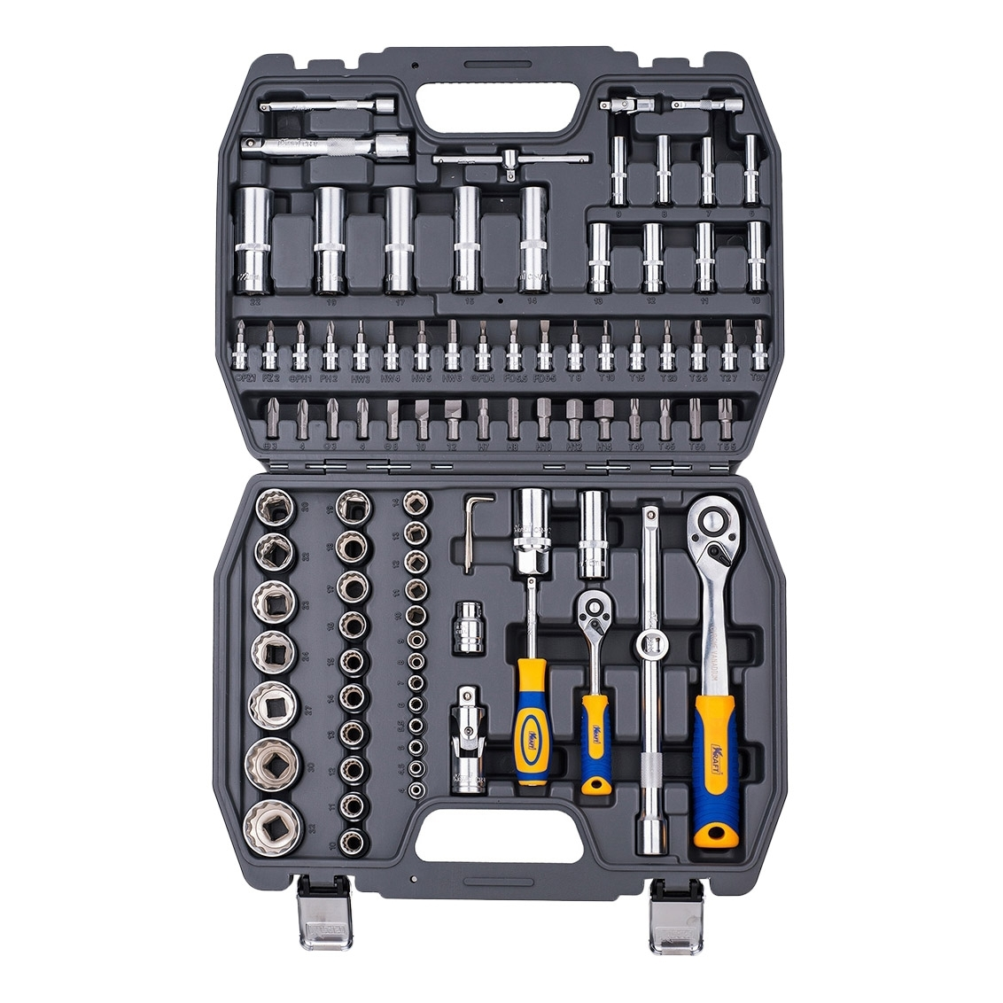 Hand tool set KRAFT CT 700682 94 deko tz53 household tool set auto repair mixed tool combination package hand tool kit with plastic toolbox storage case 53 pcs