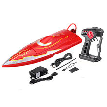 016 500mm 2.4G Brushless Electric Rc Boat with Water Cooling System RTR Model High Speed RC Boat Outdoor Toys For Boy Toys Gift(China)