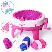 40 позиций спиц, большой ручной вязальный станок, ткацкий станок для вязания Scraf Hat, детские развивающие Обучающие игрушки, инструменты для вязания