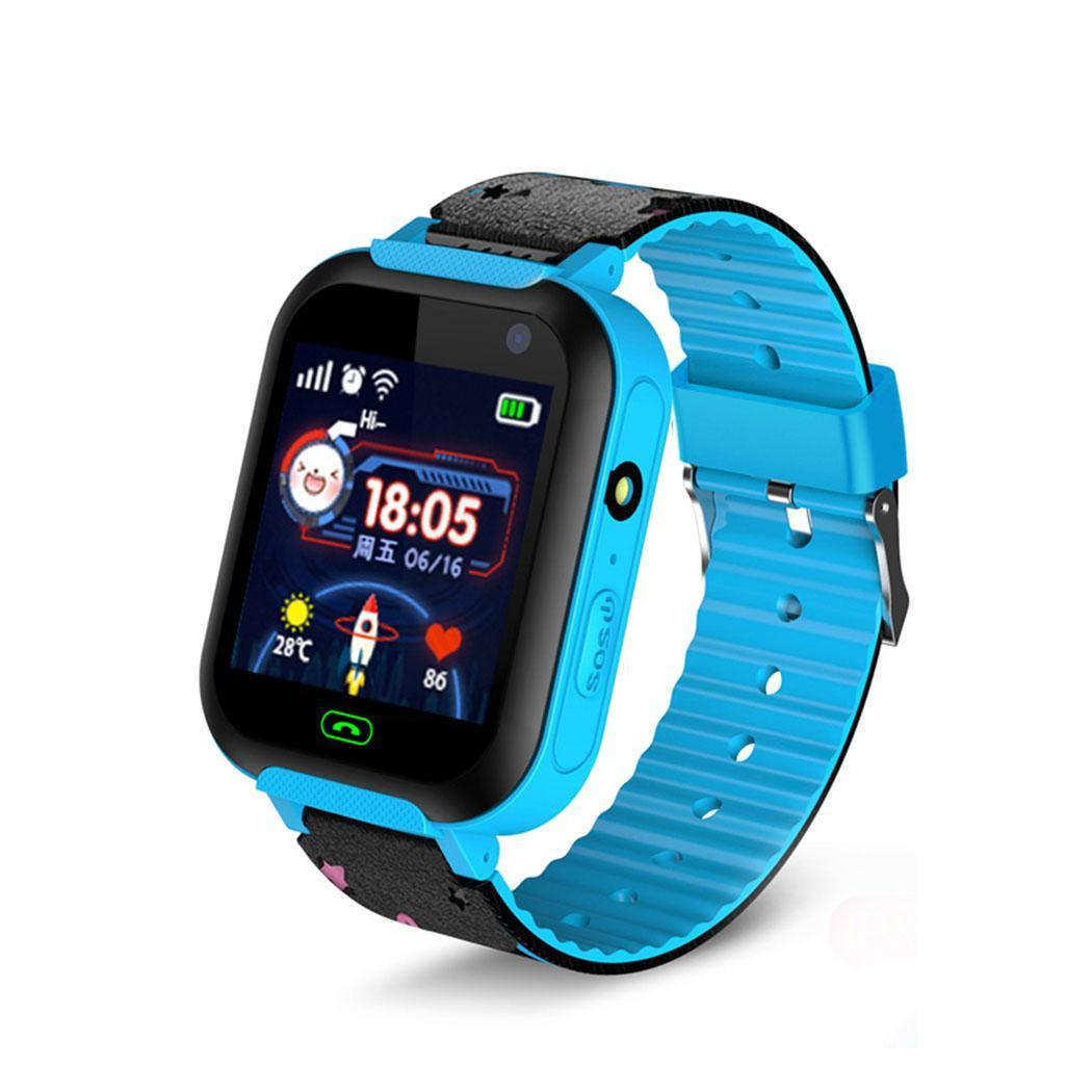 Children Boys Girls Multi function Smart Watch 240 x 240 Wrist Easy To Use Watch Bracelet Bangle Square TPU