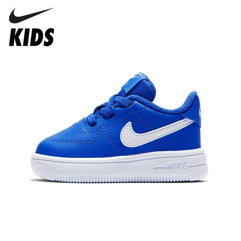 NIKE Kids FORCE 1 18 (TD) New Arrival Kids Sports Running Shoes Breathable Sweat-absorbent Toddler Sneakers  #905220-400NIKE Kids FORCE 1 18 (TD) New Arrival Kids Sports Running Shoes Breathable Sweat-absorbent Toddler Sneakers  #905220-400