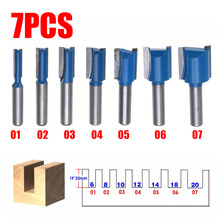 1pc 8mm Shank Straight Router Bit Set 6/8/10/12/14/18/20mm Cutting Diameter For Machine Woodworking Accessories Milling Cutter 1pc 2zd 1 2 6 25 straight double edged straight alloy milling cutter woodworking cnc engraving machine cutter slotted 1 2 shank