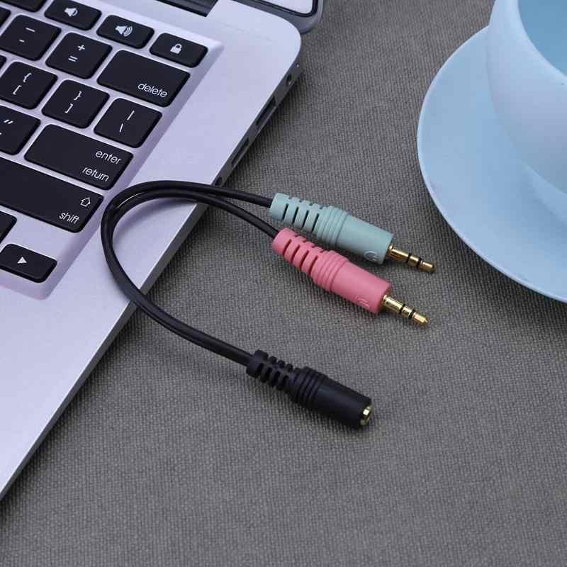 Jeden punkt dwa Audio kabel 3.5 włącz podwójne lotosu 2RCA pozłacana wtyczka przewód Audio dla telewizji DVD VCD głośników wzmacniacza mocy
