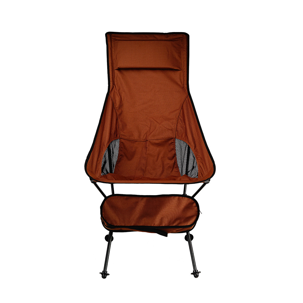 Manufacturer Custom Outdoor Heightening Club Chairs Beach Chair Camping Portable Back Folding Chair OEM MOQ 500 Sets