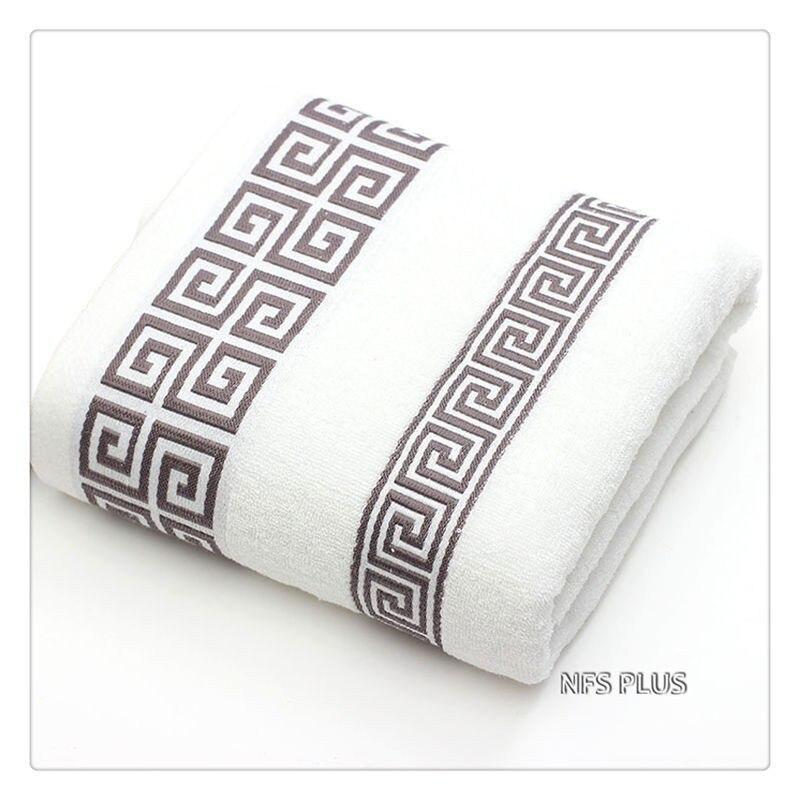 Cotton Towel Set for Adults 2 Face Hand Towel 1 Bath Towel Bathroom Solid Color Blue