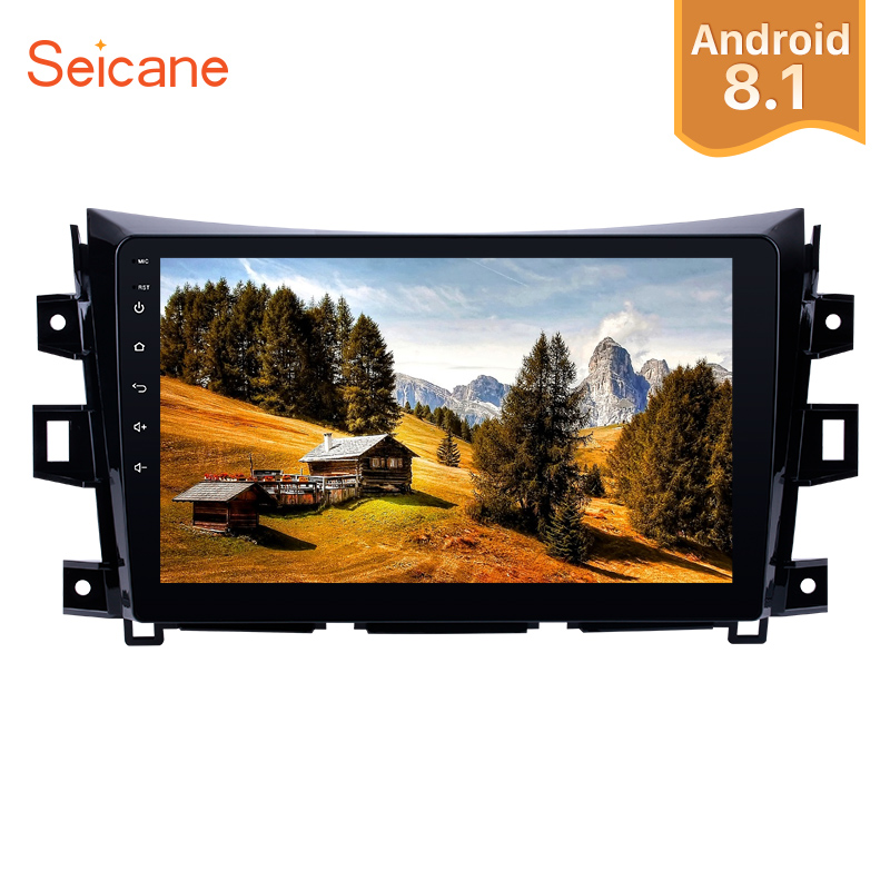 Seicane Android 8 1 10 1 GPS Car Radio 2 Din For Nissan NAVARA Frontier NP300