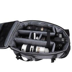 Wodoodporny cyfrowy torba na aparat DSLR wielofunkcyjny plecak na zewnątrz podróży w Torby na aparaty/kamery od Elektronika użytkowa na