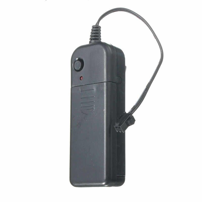 Smuxi светодиодный контроллер драйвер для EL Wire 3 V Автомобильная неоновая лампа светящаяся световая полоса трубчатая веревка