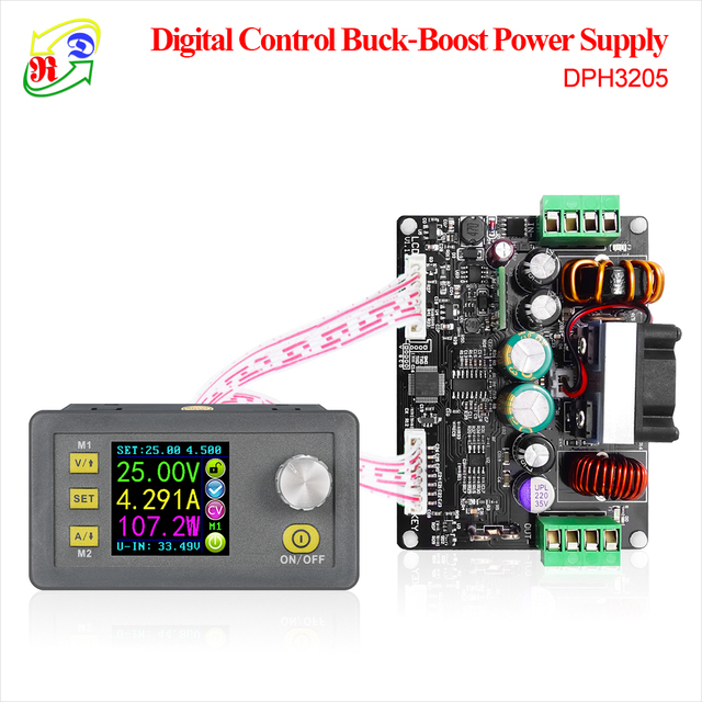 RD DPH3205 Buck-boost converter Constant Voltage current Programmable digital control Power Supply color LCD voltmeter 32V 5A
