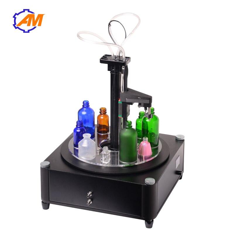 Bottle Filler Machine Liquid Stainless Steel Single Liquid Filling Nozzle Filler Liquid Machine For Juice 0-1000ml