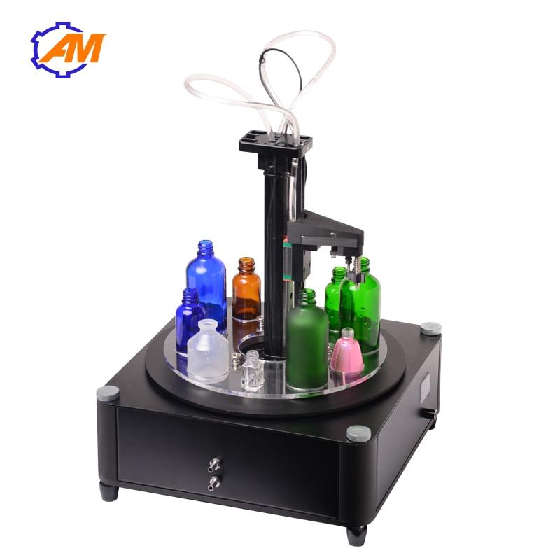 Digital Control Pump Liquid Filling Machine LCD Display Mini Portable Electric Perfume Water Drink Milk Bottles Filler