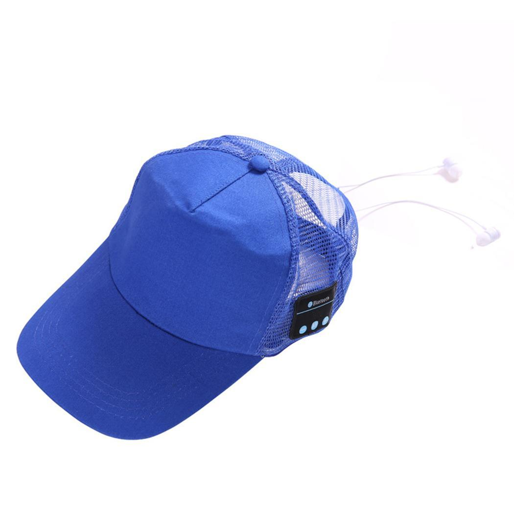 Portable Unisex Wireless Bluetooth Music Earphones Casual 32 Baseball 2H User Manual 95dB Cap Fashion Hat