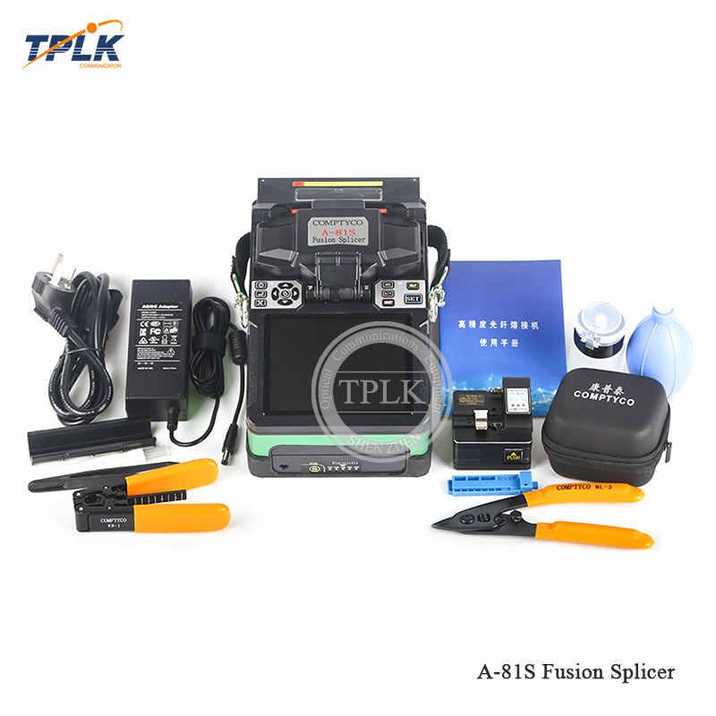 Большая распродажа! 2019 Самая низкая цена FTTH волоконно-оптическая сварочная машина слияние оптических волокон Splicer A-81S новый продукт