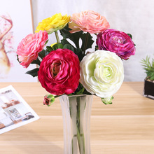 Halloween Home Living Room Decoration Bouquet 2 Head Feel lu lian Artificial Flowers Wedding Holding