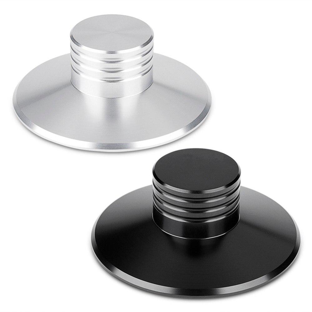 Aluminum Record Weight Clamp LP Vinyl Turntables Metal Disc Stabilizer SP Black