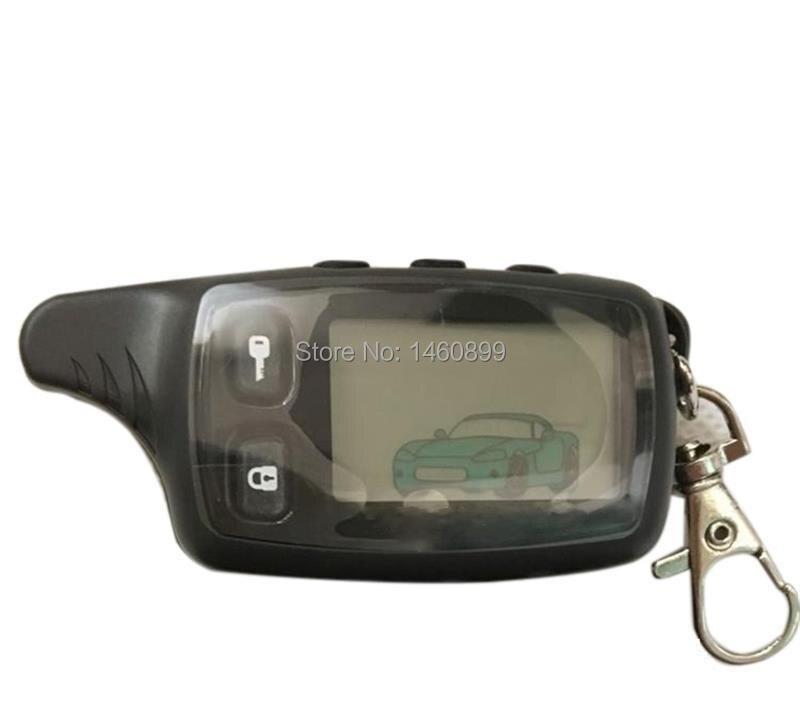 TW 9010 LCD Fernbedienung Keychain Fob für Russische Version Tomahawk TW9010 zwei-wege auto alarmanlage Tomahawk TW-9010 Schlüssel kette
