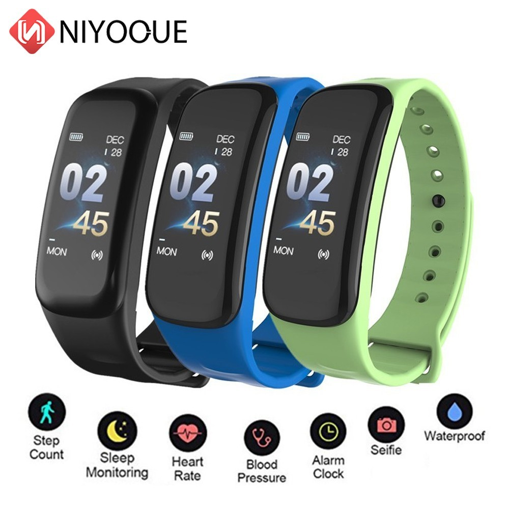 NIYOQUE Sport Smart Wear C1S <b>Smart Wristband Fitness</b> Tracking ...