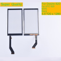 10Pcs/lot For HTC Desire D820 820G 820 Touch Screen TouchScreen Sensor Digitizer Glass Front Panel Lens NO LCD Replacement 5.5
