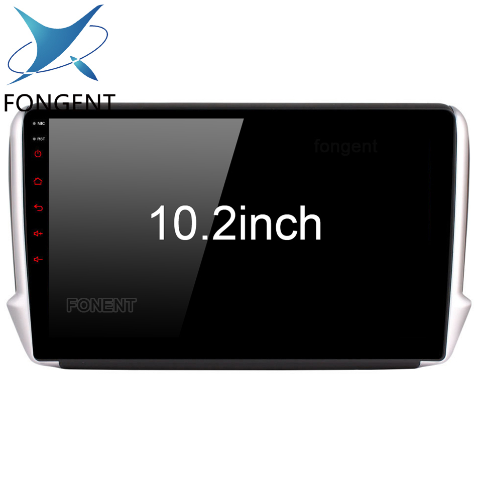 Android Multimedia Car Player for Peugeot 208 2008 2012 2013 2014 2015 2016 2017 2018 Glonass GPS Navigation Map Stereo Audio PC