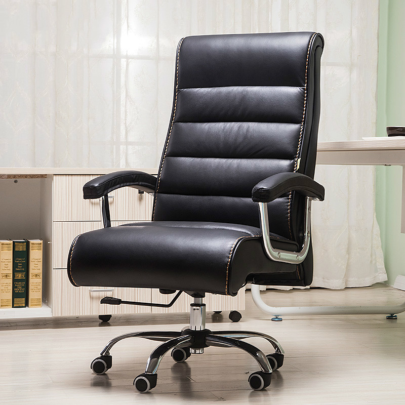Bureaustoel Met Massage.Quality Leather Swivel Office Chair Smart Electric Massage Chair