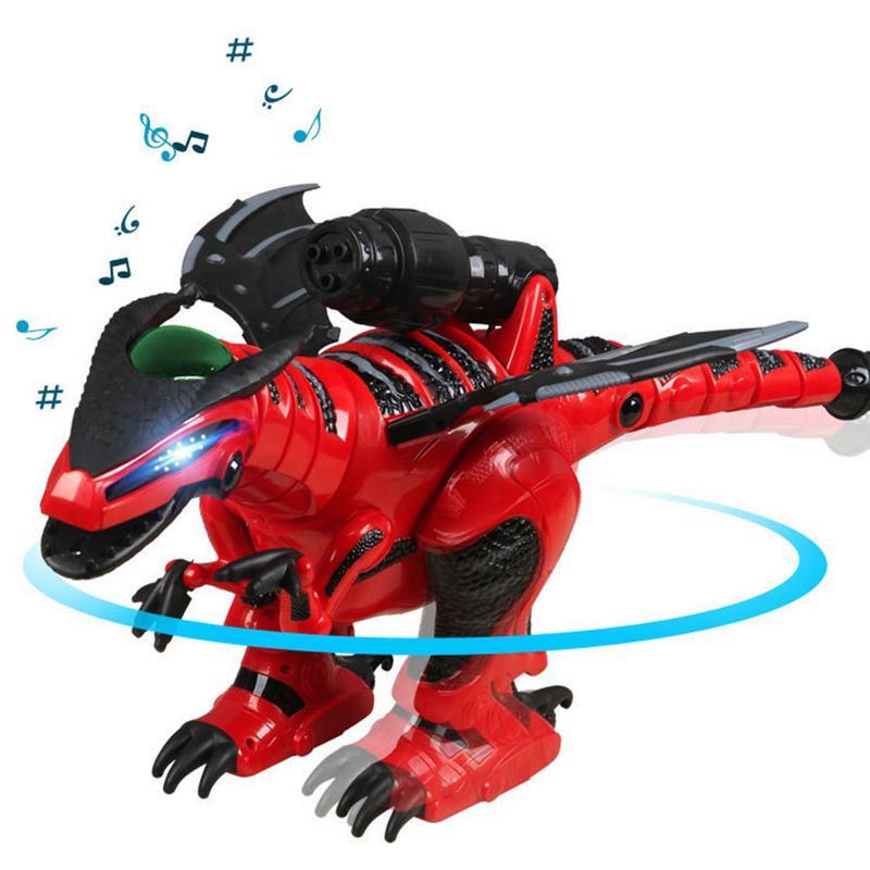 Cadeau de luxe pour enfants nouvel an dinosaure Intelligent télécommande danse marche Robot chantant dinosaure électrique avec boîte