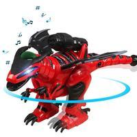 Luxury kids New Year's Gift Intelligent Remote Control Dinosaur Dancing walking singing Robot Electric dinosaur with box