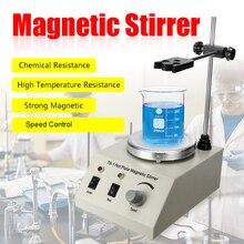 79-1 1000 мл магнитная мешалка с горячей пластиной лабораторный Миксер с переменным контролем скорости 110/220 В без шума без вибрации вилка US/EU/AU плавный запуск