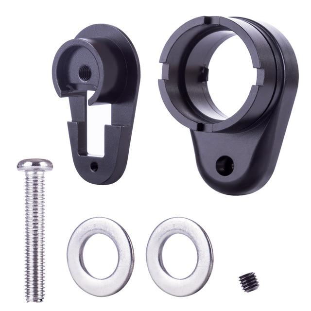 New XWE M4 Stock Core Adaptor Quick Release Version For XWE M4 Water Gel Beads Blaster Modification Upgrade - Black
