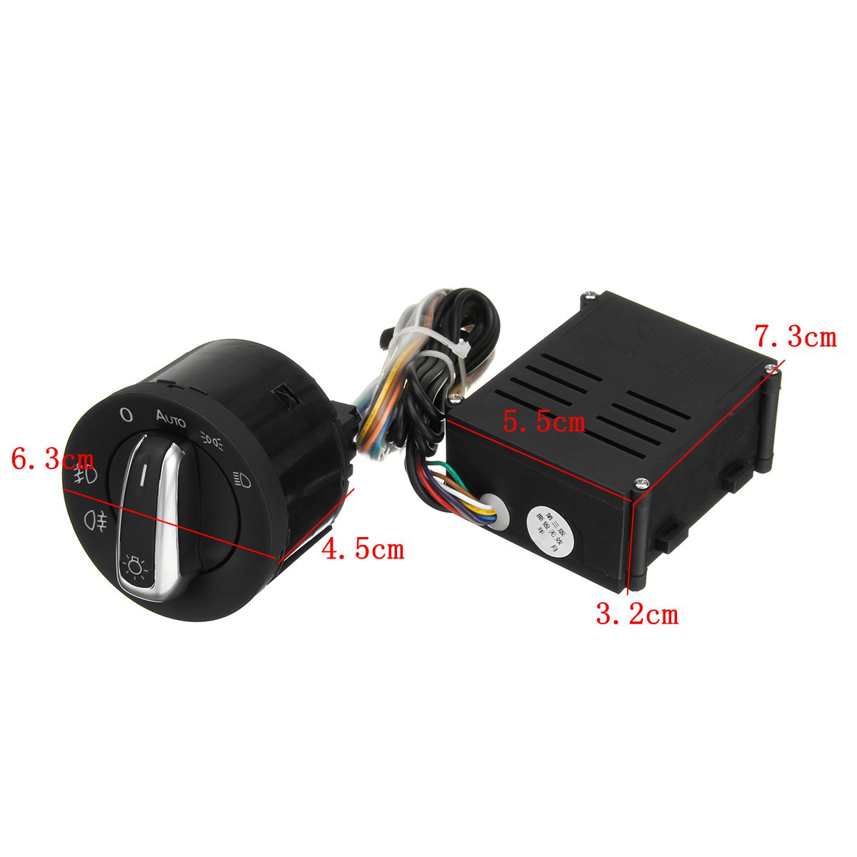 Image 5 - Car Auto Headlight Sensor HeadLamp Knob Switch Control Module for VW T5 T5.1 Transporter 2003 2015-in Car Switches & Relays from Automobiles & Motorcycles