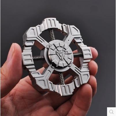 U.S.A Interstellar Trek Fingertip Top Pure Copper Assembling EDC The Fingers Finger Spiral Out Of Print Decompression Artifact