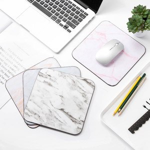 Cute Marble Office Desk Mat Of