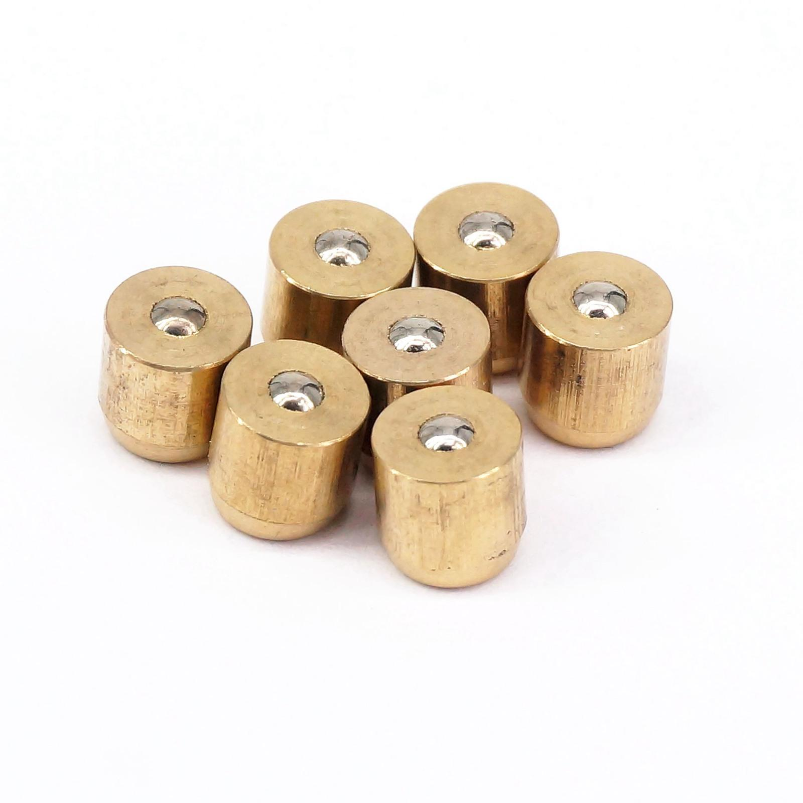LOT 20 Brass Push Button Oiler Press Fit Ball Oiler For Gas Engine Motor Hit&Miss Oil Grease  6x6mm