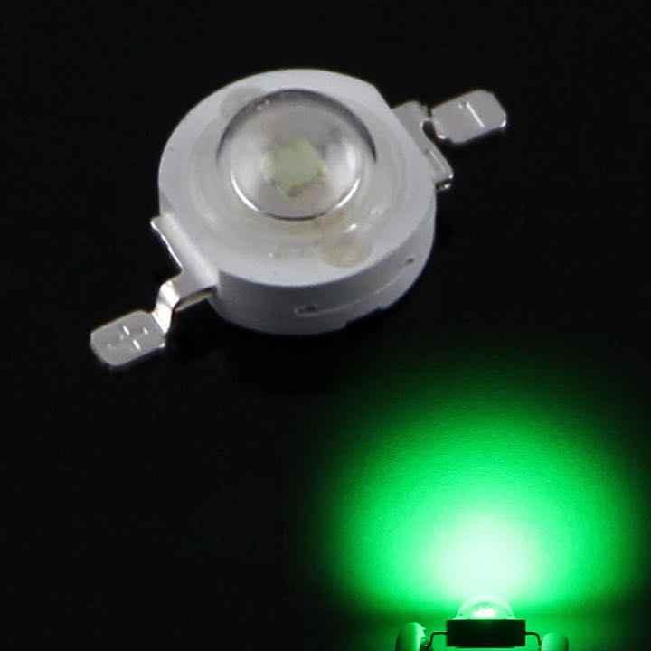 10 PCS/מלא ואט 1 W 3 W 3 V SMD מתח גבוה LED מנורת 35MLI שבב אדום כחול ירוק לבן LED הנורה 3 W-18 W זרקור אור Downlight