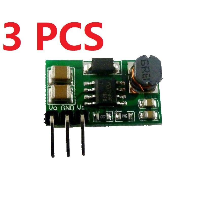 1 PCS DD0606SA DC-DC 1-5V to 3V 3V3 3V7 4V5 5V 6V Step up Boost Converter Module