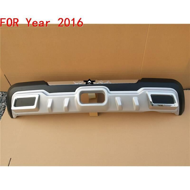 tuning Car Front Lip Rear Diffuser Exterior Accessory Modification Upgraded Mouldings Bumpers protector 16 FOR Suzuki Vitelaru in Bumpers from Automobiles Motorcycles