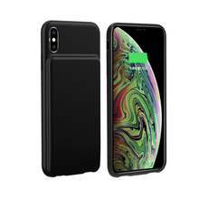 Extpower 5000mAh Silicone Battery Charger Case For Iphone XS Max XR External Slim Thin Power Bank Charging Powerbank Cover Funda