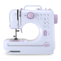 FHSM 505 Portable Multifunctional Household Mini Sewing Machine with LED Light