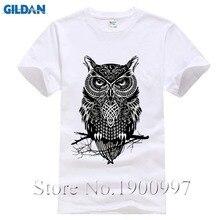 7ab0cac021fee 2017 Fashion Men s Cotton T-Shirt Printed Owl drake Plus Size Brand Printed Casual  T