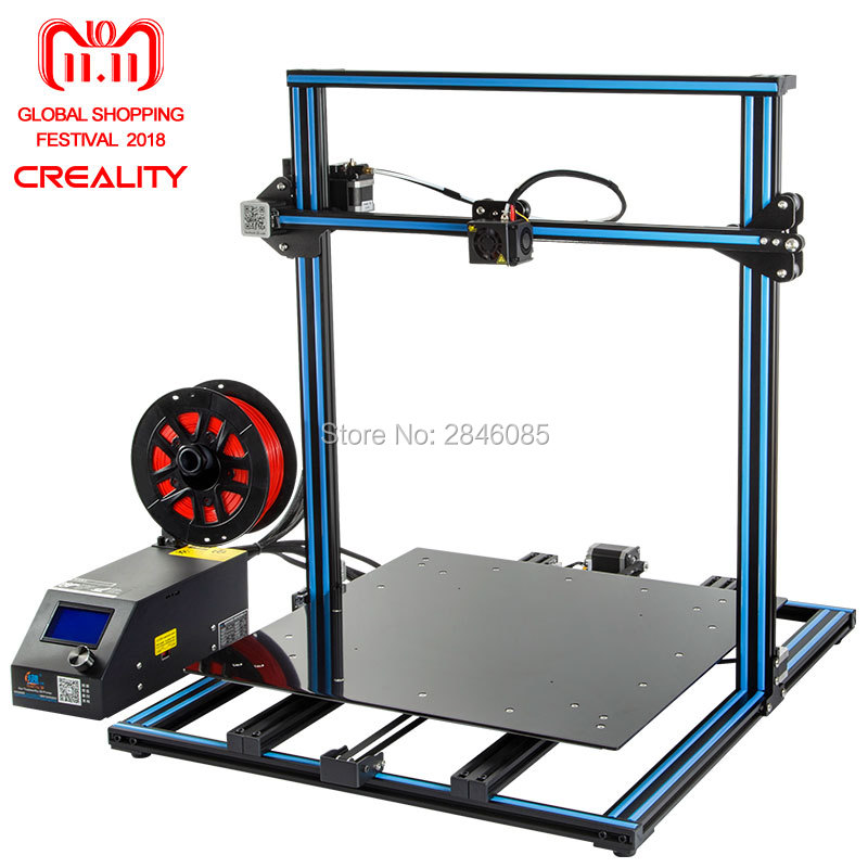 цена на 3D Printer Creality 3D CR-10S CR-10 Optional ,Dua Z Rod Filament Sensor/Detect Resume Power Off Optional 3D Printer DIY Kit