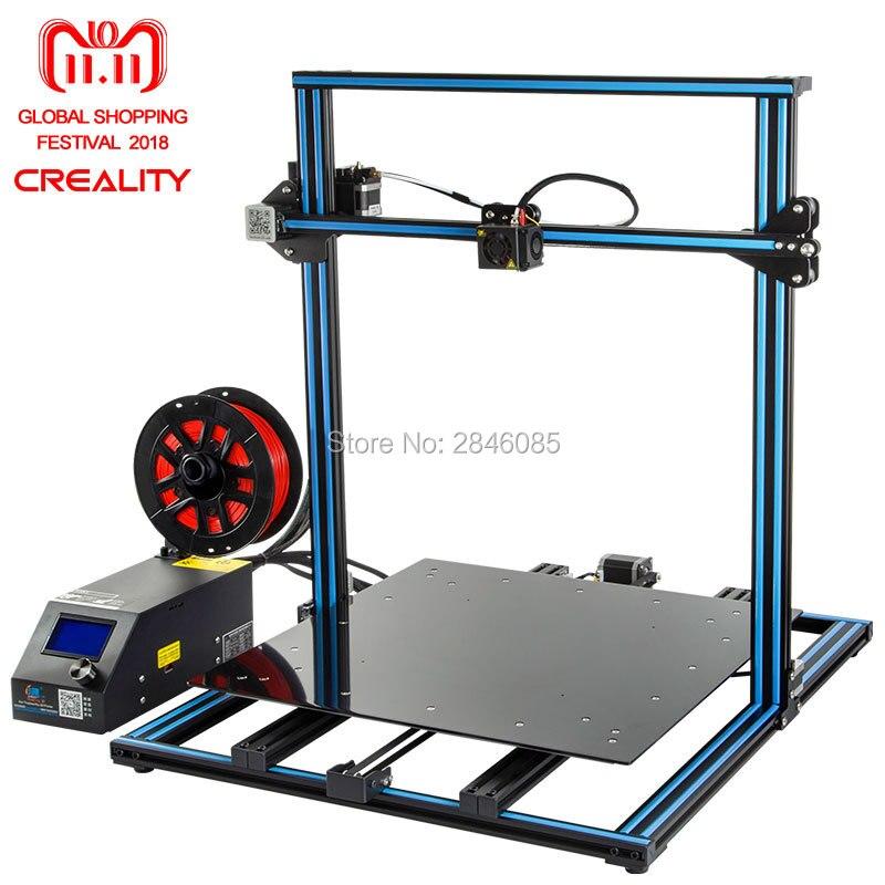 3D Stampante Creality 3D CR-10S CR-10 Opzionale, dua Z Asta Filamento Sensore/Rilevare Riprendere Spegnimento Opzionale 3D Stampante Kit FAI DA TE