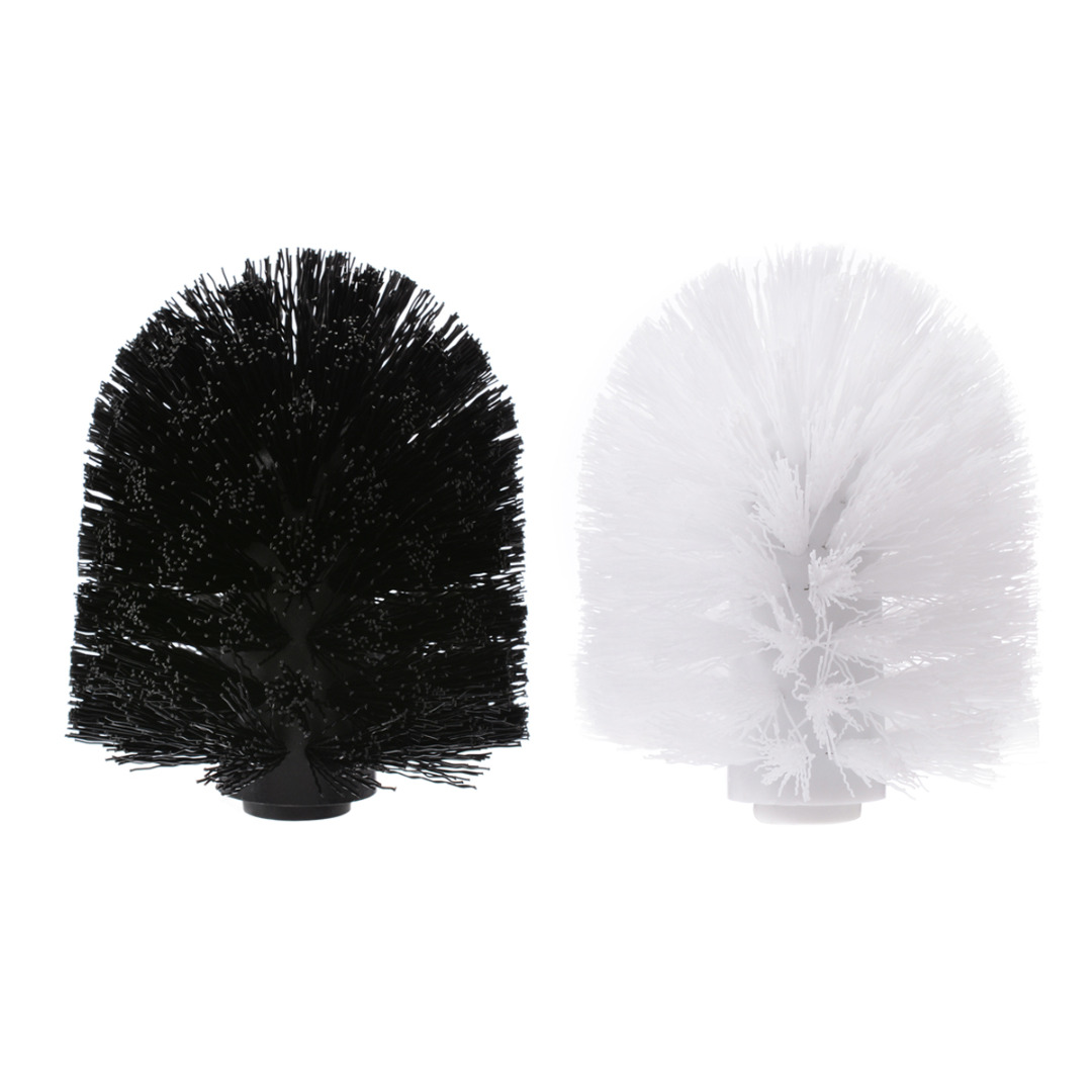 New 1Pc Toilet Brush Head PVC Brush Head Suit For Universal Holder Replacement Bathroom WC Cleaning  Accessory Tool