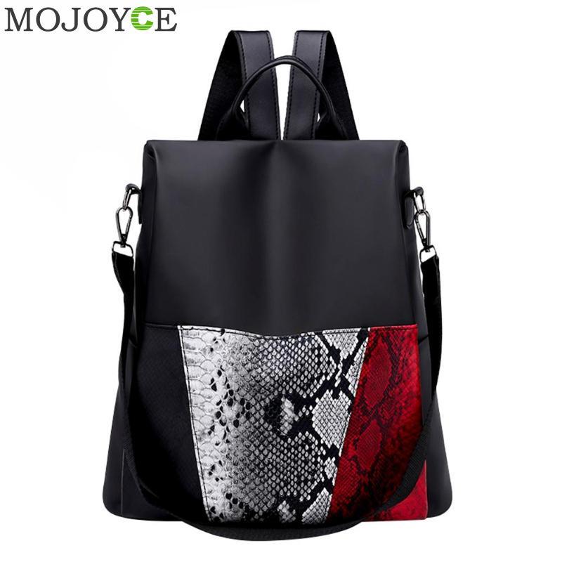 Women Anti Theft Nylon Backpack Female Designer School Bags For Teenager Girl Waterproof Travel Backpack Women Rucksack Bagpack