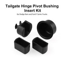 Tailgate Hinge Pivot Bushing Insert Kit Wear-resisting Self-lubricating Seizure Resistance Characteristics