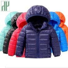 Spring fall Light children winter jackets Kids cotton Down Coat Baby jacket for girls parka Outerwear