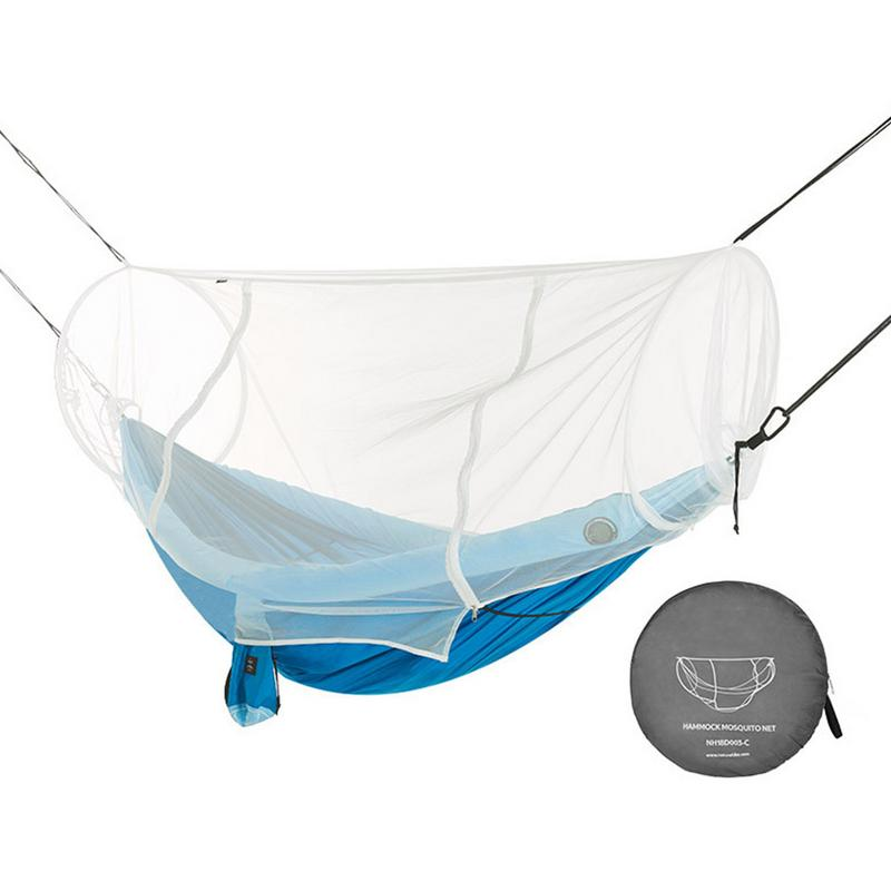 Camping & Hiking Camping Hammock With Mesh Cover Outdoor Mosquito Net Parachute Hammock Camping Hanging Sleeping Bed Swing
